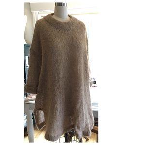 American Vintage Alpaca/Mohair Tunic Sweater